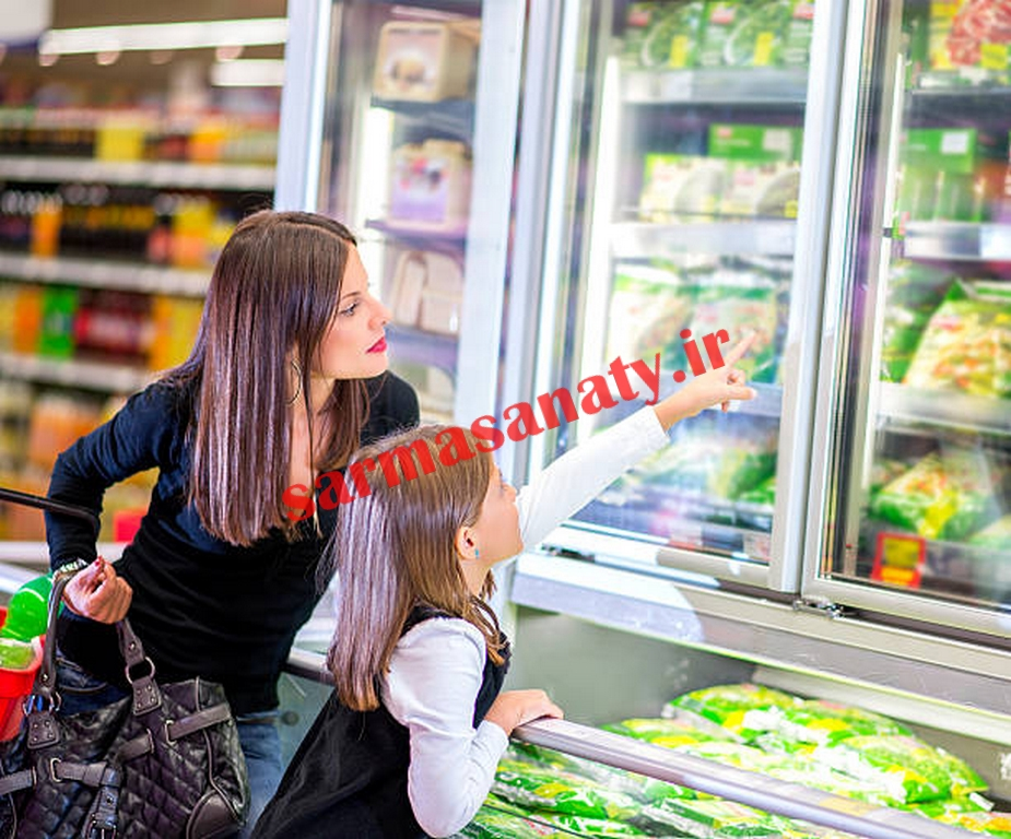قیمت یخچال ایستاده سوپرمارکت