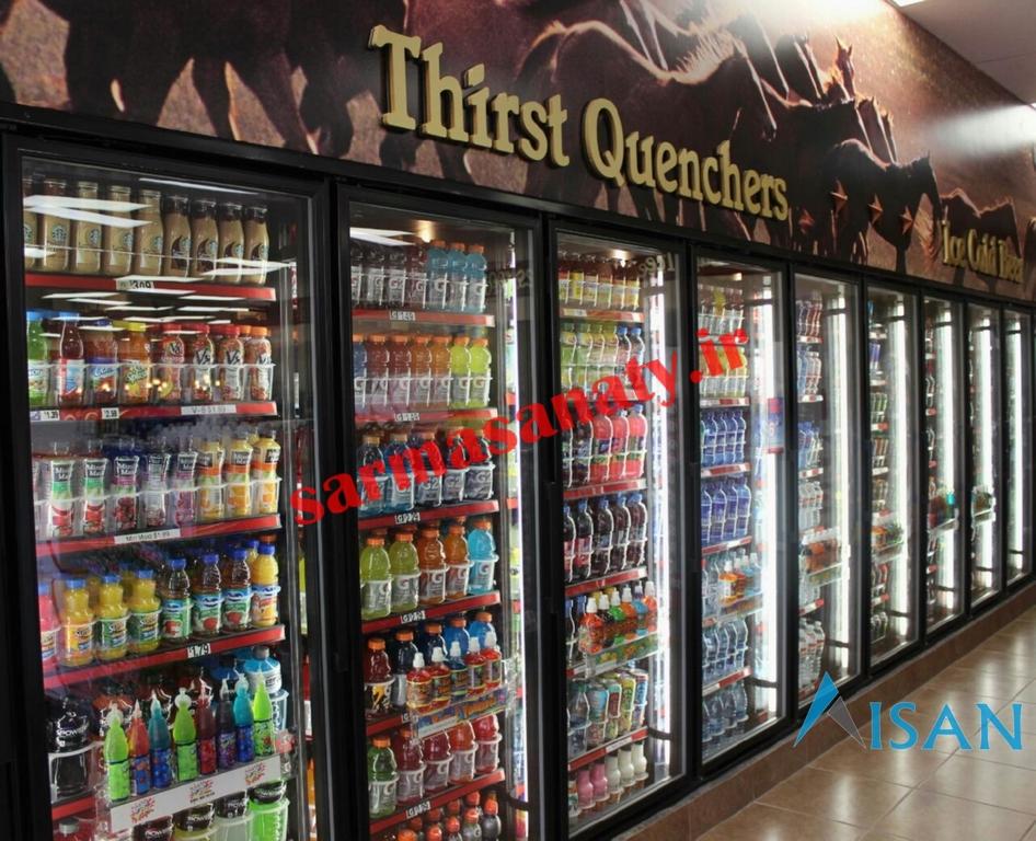 خرید یخچال ویترینی ایستاده