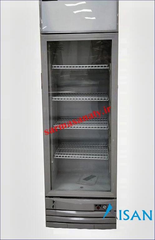 خرید یخچال ویترینی تک در